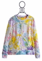Flowers by Zoe Tye Dye Sweatshirt with Daisy Peace Sign