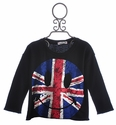 Flowers By Zoe UK Love Tween Black Sweater
