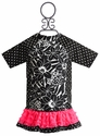 Frankie and Daisy Garden Gallery Rash Guard Girls Swimsuit