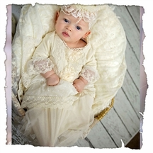 Frilly Frocks Sylvie Infant Gown