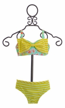 Frou Frou Bikini in Stripe and Floral Camille (6-12Mos & 3)
