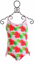 Frou Frou Floral Little Girls Swimsuit