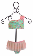Frou Frou Floral Swimsuit for Girls Poppy