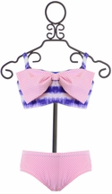 Frou Frou Two Piece Swimsuit in Pink
