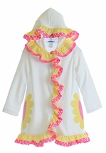 Funtasia Too Coverup for Girls with Yellow Flowers (12Mos & 18Mos)