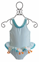 Funtasia Too Duck Infant Girls Swimsuit (3 Mos & 12 Mos)
