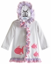 Funtasia Too Fish Applique Girls Swimsuit Cover Up