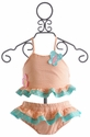Funtasia Too Girls Butterfly Two Piece Swimsuit