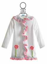 Funtasia Too Girls Hooded Coverup in Terry (Size 4)