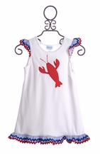 Funtasia Too Girls Lobster Dress Coverup