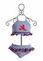 Funtasia Too Girls Lobster Swimsuit Two Piece