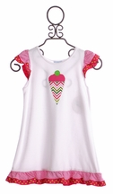 Funtasia Too Ice Cream Cone Coverup for Girls (24Mos,4T,4)