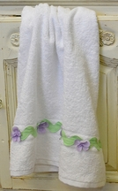 Funtasia Too Lavender Flower Towel
