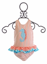 Funtasia Too Seahorse Swimsuit for Girls