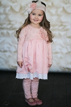 Giggle Moon Abigial Dress with Leggings for Girls