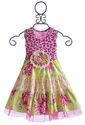 Giggle Moon Cheetah Paws Girls Party Dress