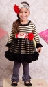 Giggle Moon Dance For Joy Tutu Dress with Legging