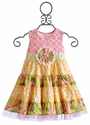 Giggle Moon Faith and Love Girls Party Dress
