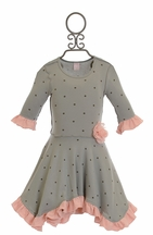 Giggle Moon Graced Hanky Dress for Girls