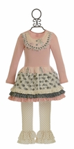 Giggle Moon Graced Tutu Dress with Legging
