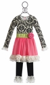 Giggle Moon Happy and Joyful Tutu Dress with Legging