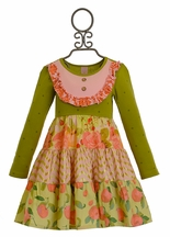 Giggle Moon Harvest Fields Party Dress for Girls
