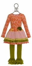 Giggle Moon Harvest Fields Tutu Dress with Legging