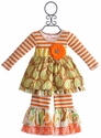 Giggle Moon Harvest Party Madison Dress with Ruffle Pant