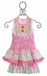 Giggle Moon Honeycomb and Blossoms Swing Set for Girls