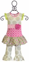 Giggle Moon Lilly of the Valley Swing Set for Girls