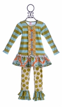 Giggle Moon Mabel Girls Outfit Treasured Possession (18Mos,5,6X,8)