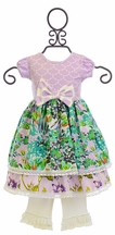 Giggle Moon Maggie Dress True Vine