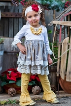 Giggle Moon Maggie Dress White As Snow
