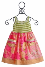 Giggle Moon Morning Glory Lucy Dress for Girls (6X & 7)