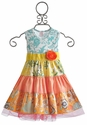 Giggle Moon Mustard Seed Party Dress for Girls
