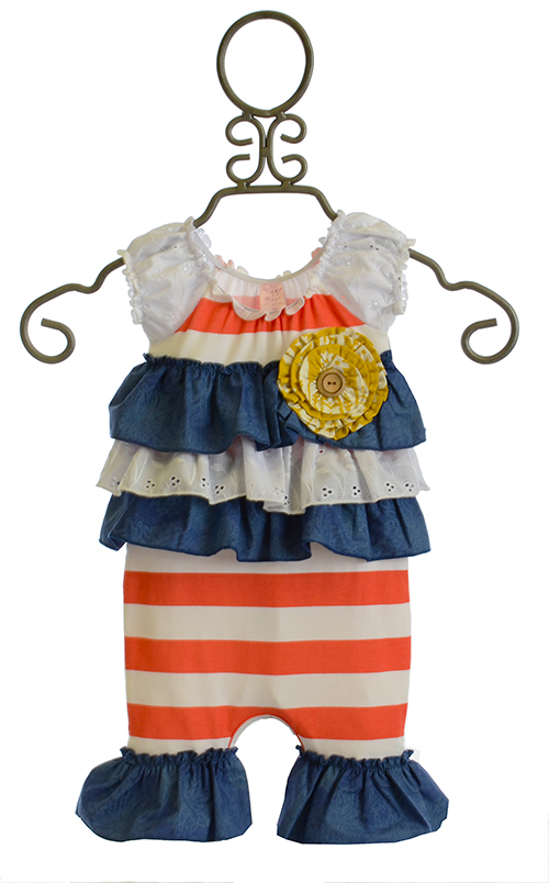 Giggle Moon New Song Baby Romper Size 3mos