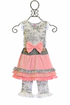 Giggle Moon Paradise Garden Tutu Dress