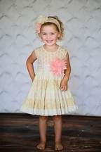 Giggle Moon Party Dress Fruits of the Spirit PREORDER