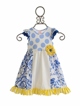 Giggle Moon Pixie Panel Dress for Girls Heaven Sent (12Mos,5,6)