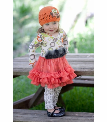 Home > Giggle Moon Pumpkin Pie Tutu Dress with Legging