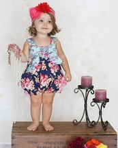 Giggle Moon Pure in Heart Betty Bubble Romper