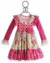 Giggle Moon Raspberry Truffle Party Dress for Girls