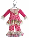Giggle Moon Raspberry Truffle Swing Set for Girls