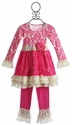 Giggle Moon Raspberry Truffle Tutu Girls Birthday Dress