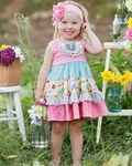 Giggle Moon Singing Praises Party Dress for Girls