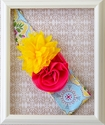 Giggle Moon Sweet as Honey Floral Headwrap