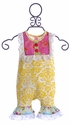 Giggle Moon Sweet as Honey Yellow Romper