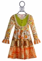 Giggle Moon Thankful Hearts Party Dress for Girls