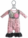 Giggle Moon Tickles and Giggles Girls Infant Romper