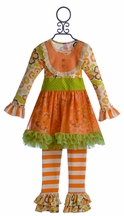 Giggle Moon Tutu Dress and Legging Thankful Hearts
